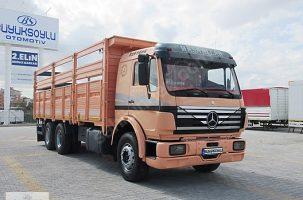 Kütahya Çavdarhisar dan Afyon Sandıklı 10 teker kamyon traktör ve kesim işçilerine eşyalar yükleyecek